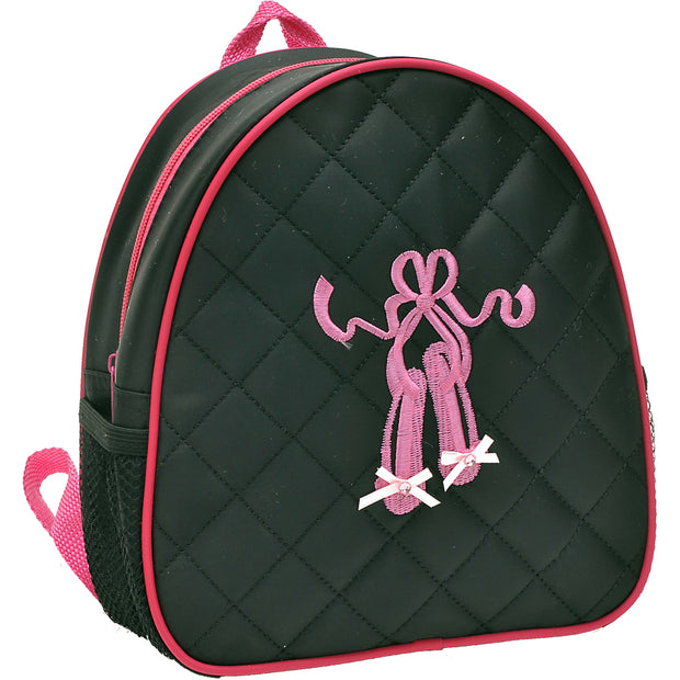 44014-BLKBACK Ballet Shoes Backpack