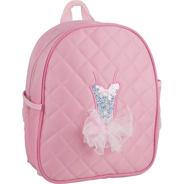 44014-PNKBACK Fluffy Tutu Backpack