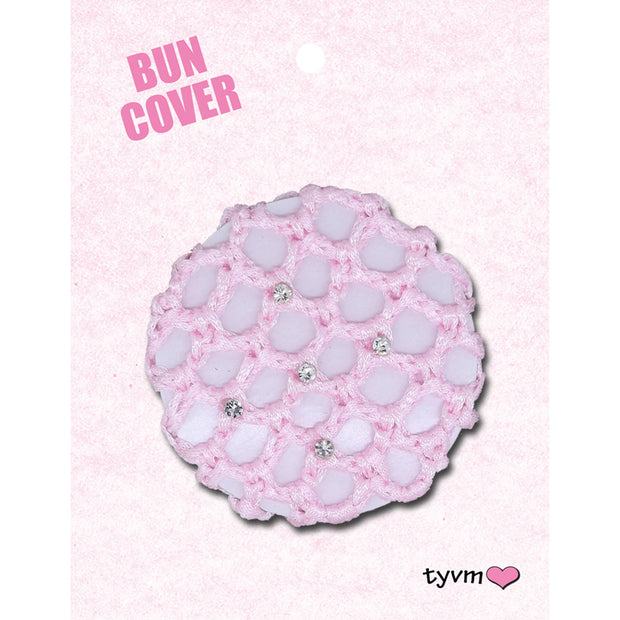 44514 Mini Crystal Bun Cover