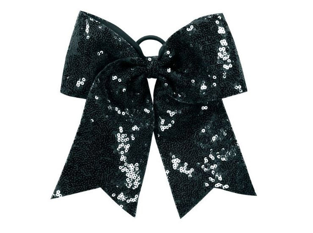 6702 Sequin Cheer Hair Bow