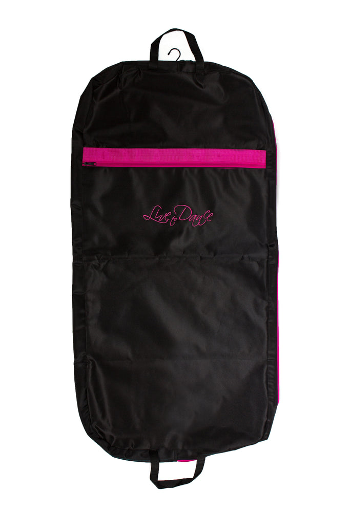 7046 Live to Dance Garment Bag Pink