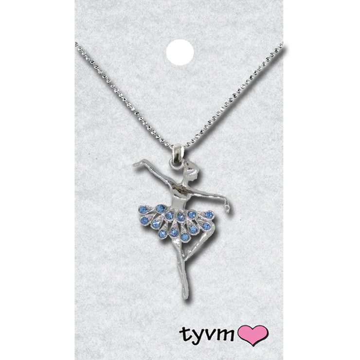 79810 Crystal Ballerina Necklace