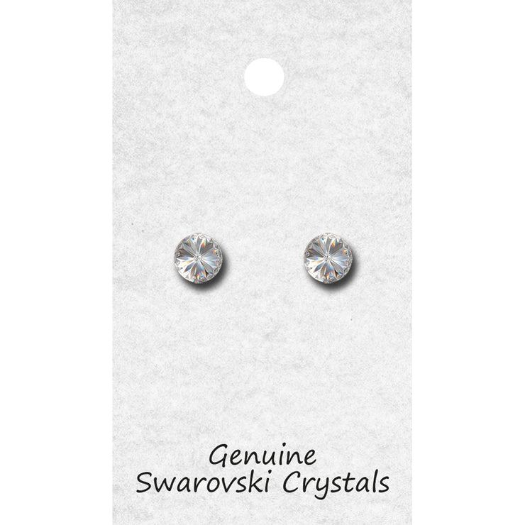 96008P Single Stone Earring POST
