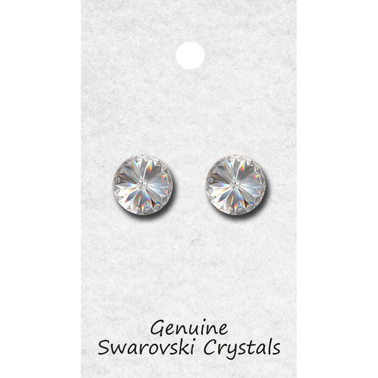96014P Single Stone Earring POST