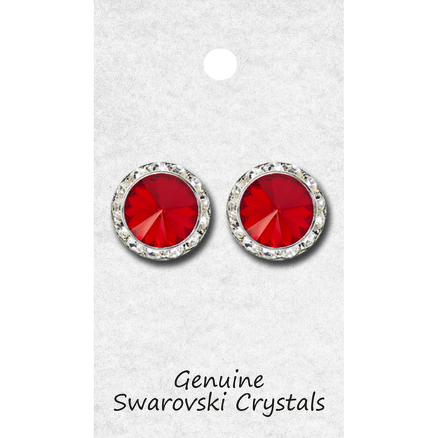 98020P Swarovski Crystal Earring POST