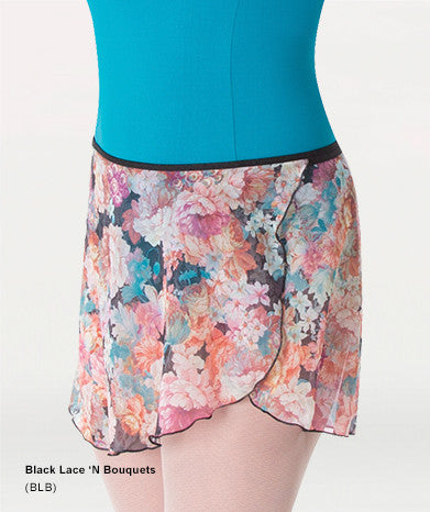 "980 15"" Adult Print Wrap Skirt"