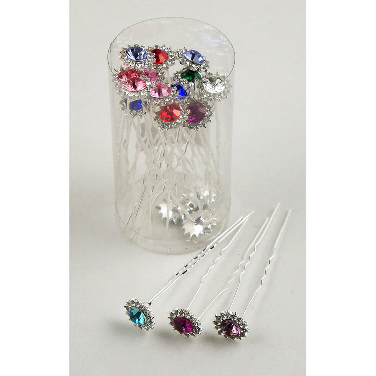 9975828 Crystal Hair Sticks*