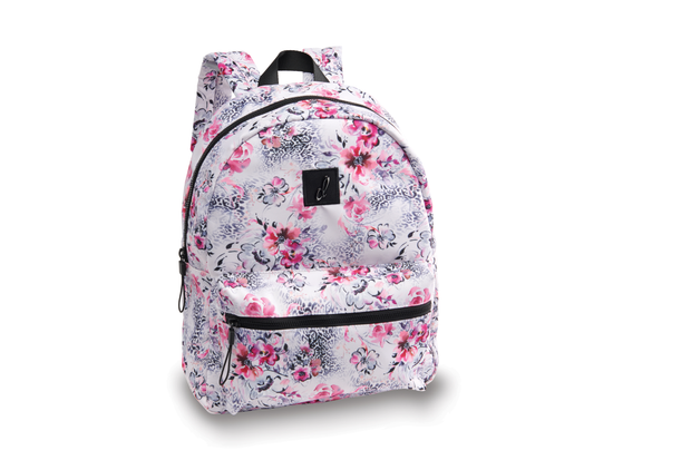 B20513 My Cheetah Floral Backpack