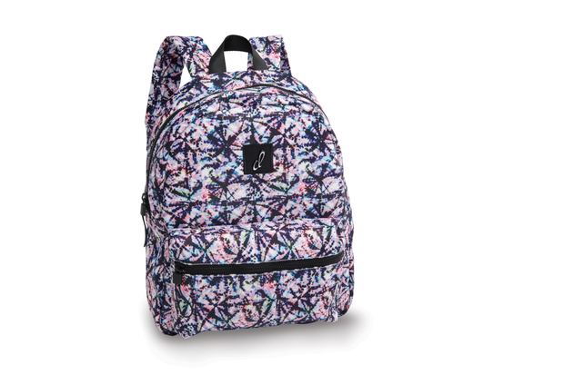 B20532 Splattered Tie Dye Backpack