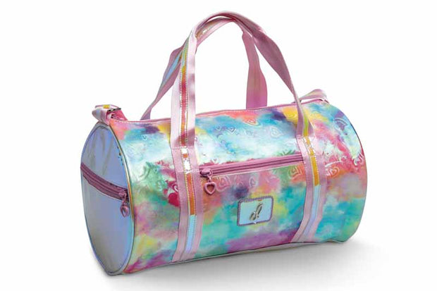 B21514 Pastel Clouds and Hearts Duffel