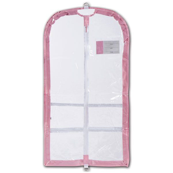 Competition Gusseted Garment Bag with Velvet Hanger