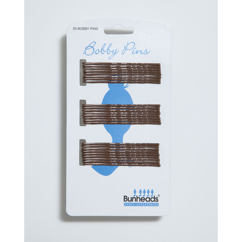 BH447  Lt. Brown Bobby Pins