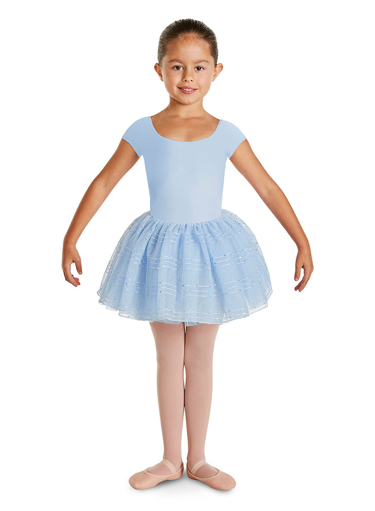 CL2912 Child Tutu Cap Sleeve Leotard