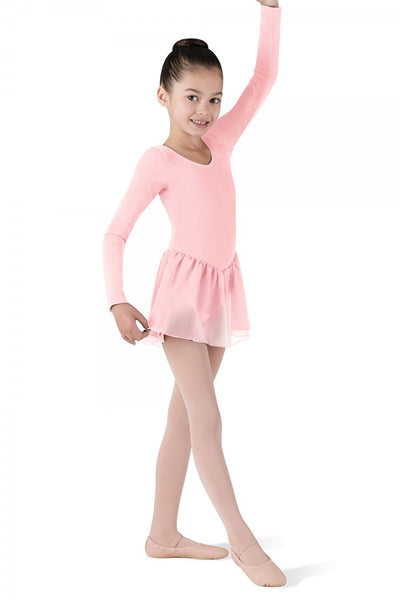 CL5309 Long Sleeve Skirted Leotard