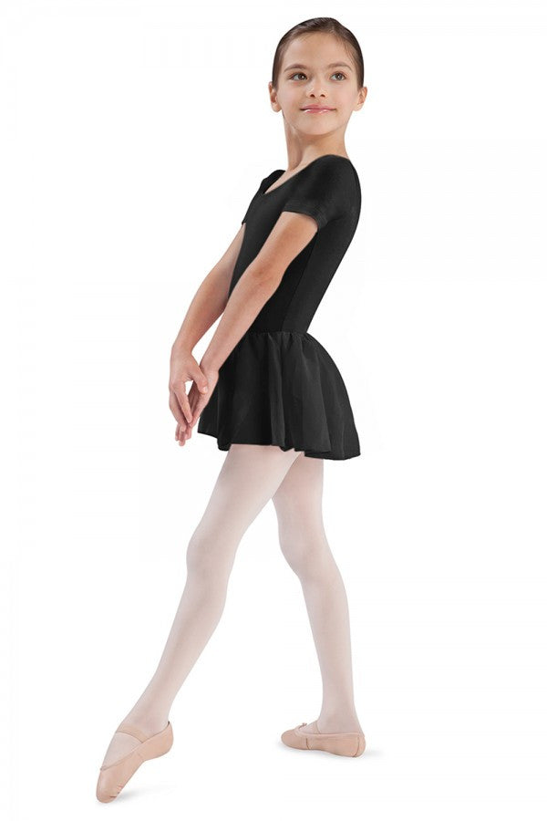 CL5342 Child Short Sleeve Skirted Leotard