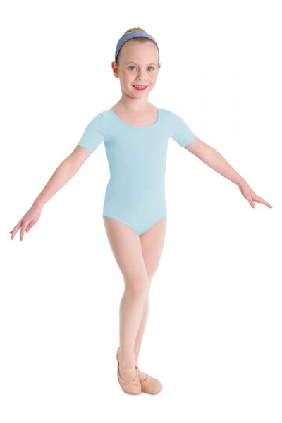 CL5402 Child Short Sleeve Leotard