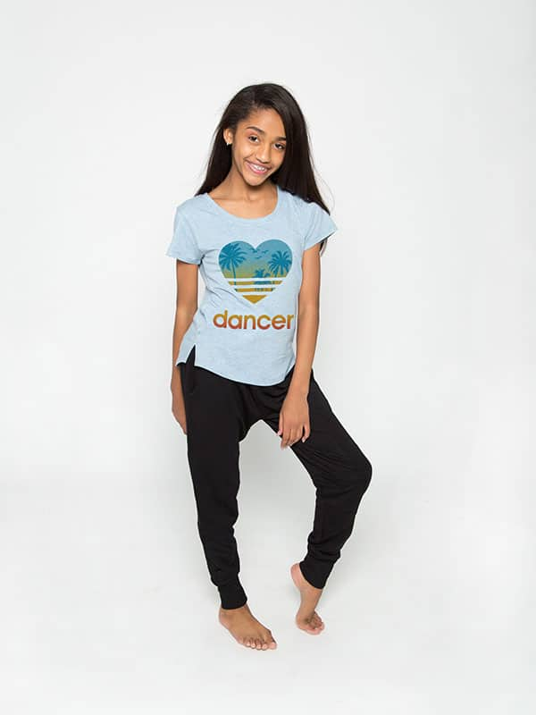 D9445 Heart Dancer Youth Epic Tee