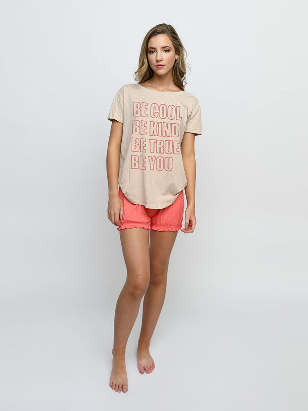 D9771 Be Cool Upscale Tee