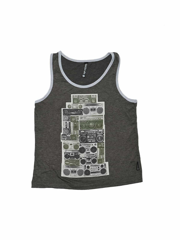 D9846 Boomboxes Youth Rebel Tank