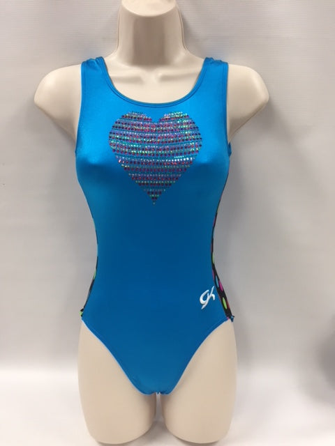 E3782 Colorful Heart Leotard