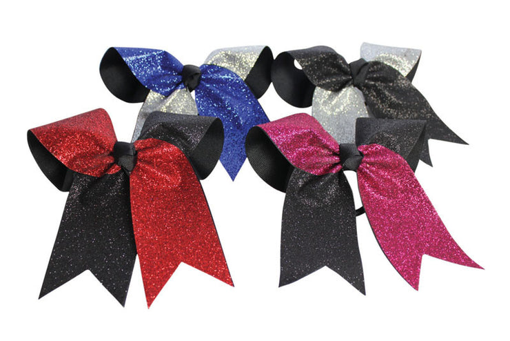 HB270-GL Glitter Twister Hairbow