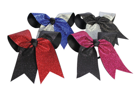 HB270GL Glitter Twister Hairbow