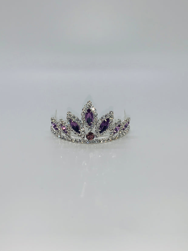 2803 Rhinestone with Color Tiara