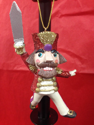 C8418 Nutcracker with Sword Ornament