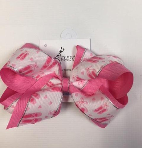 King Print Grosgrain Bow