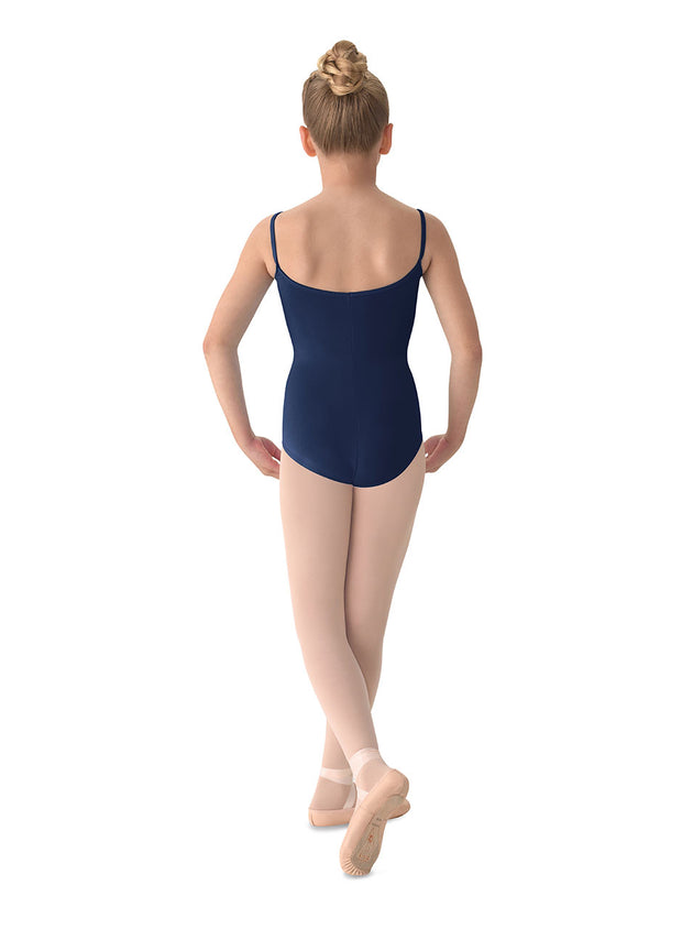 M207CD Child Princess Seam Cami Leotard