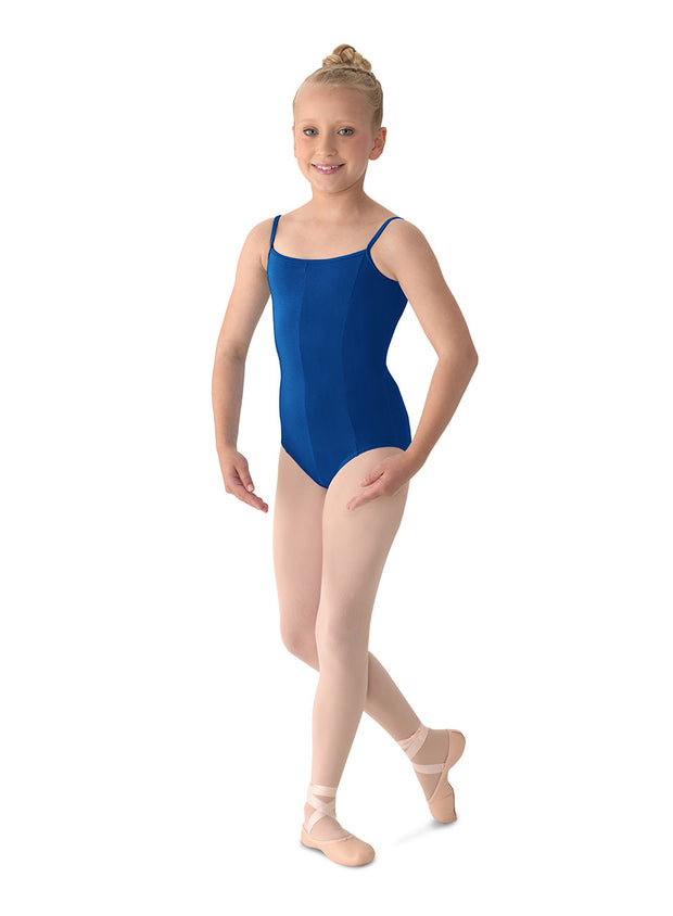 M207C Child COTTON Cami Leotard