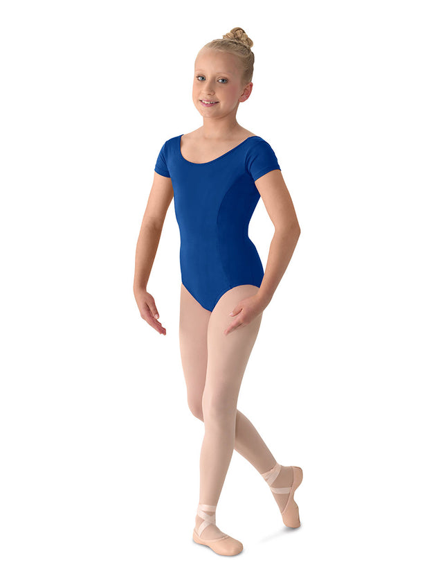 M515C Child COTTON Cap Slv Leotard