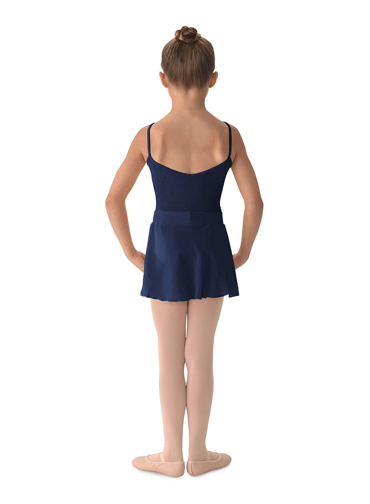 MS12CH Child Mock Wrap Skirt