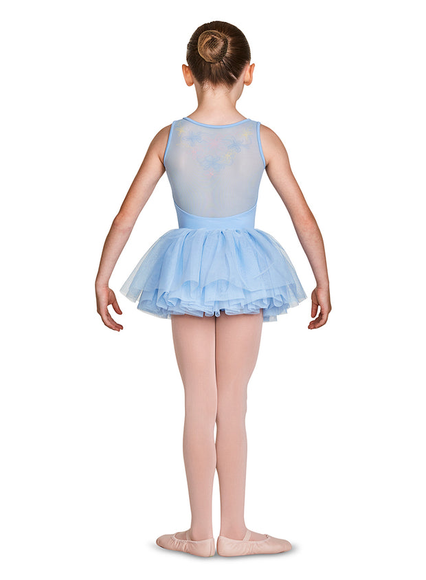 MS137C Child Embroirdered Tutu Skirt