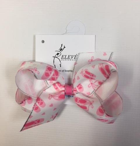 Medium Print Grosgrain Bow