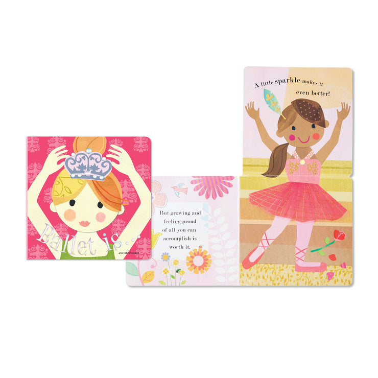 Ballet Is... Board Book BBE20071