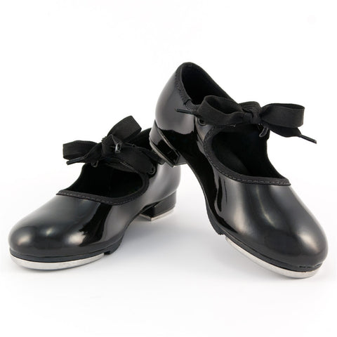 TA35 Classic Tie Tap (Black Patent Leather)