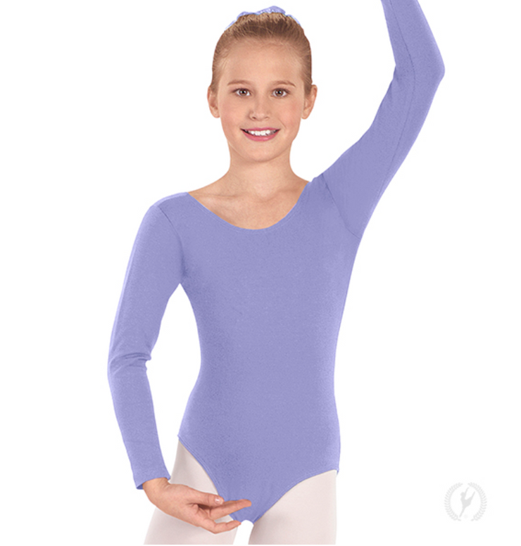 10408 Child Long Sleeve Leotard