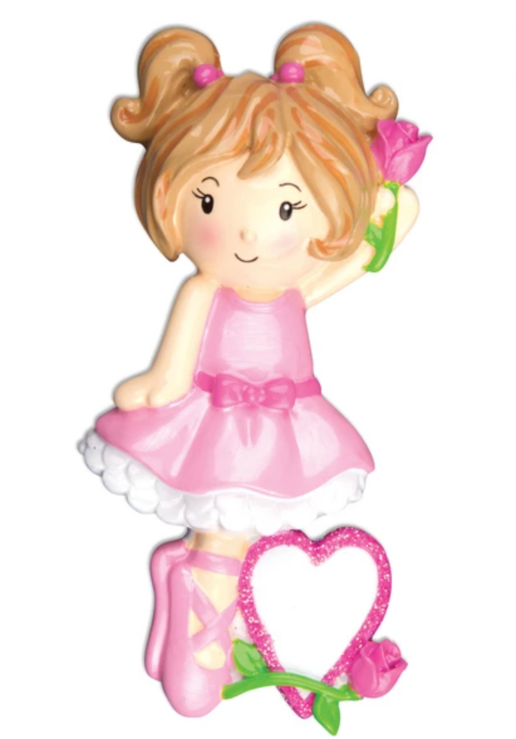 Ballet Girl Ornament