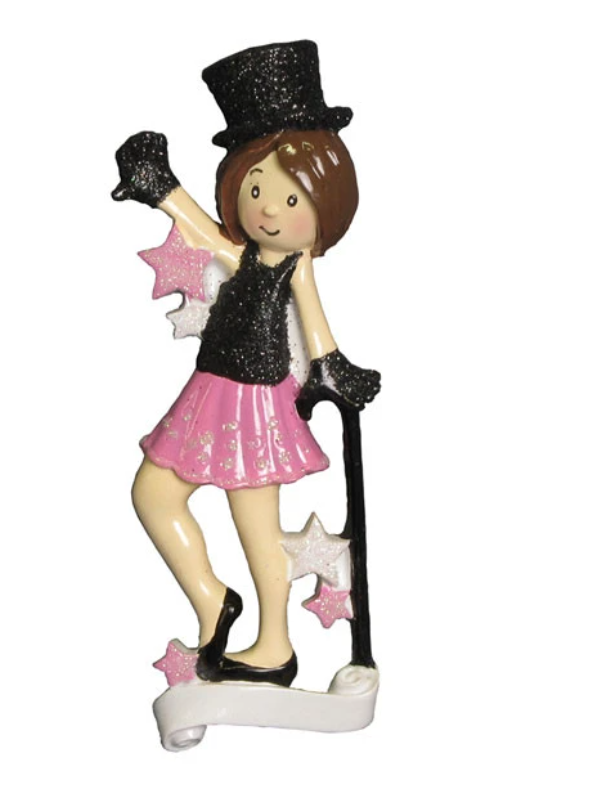 Jazz Dancer Ornament