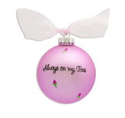 Always On My Toes Ball Ornament