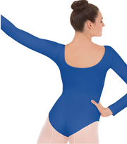 10265P Plus Long Sleeve Leotard