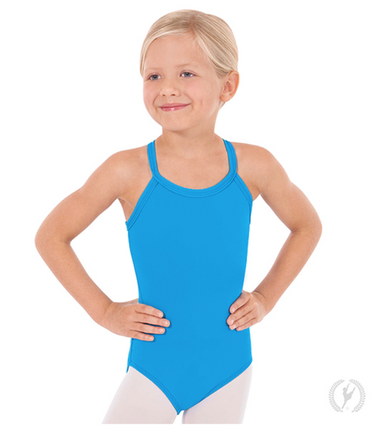 44819C Child Adjustable Convertible Cami Leotard