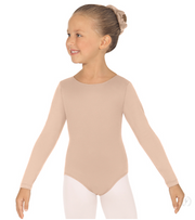 44265C Child Microfiber Long Sleeve Leotard