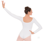 44265 Adult Microfiber Long Sleeve Leotard