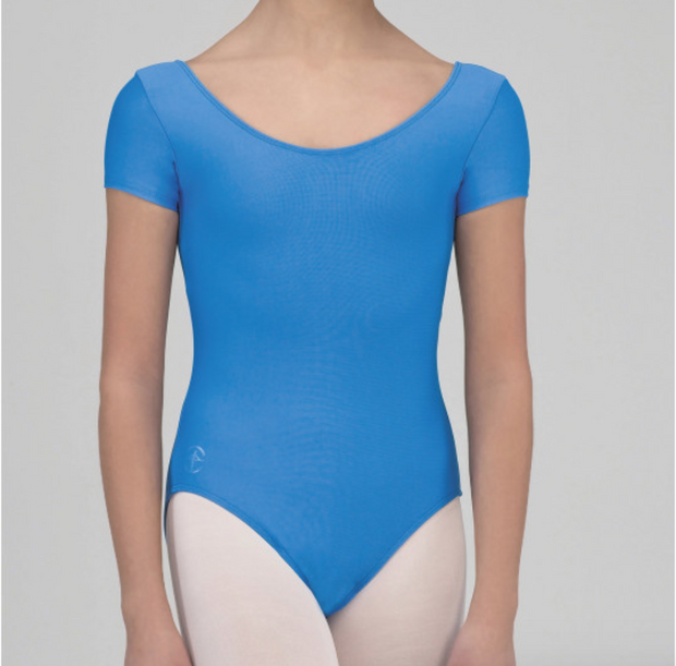 Coralie Child Short Sleeve Leotard