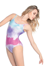 SD-1761 Adult Tie Dye Cami Leotard
