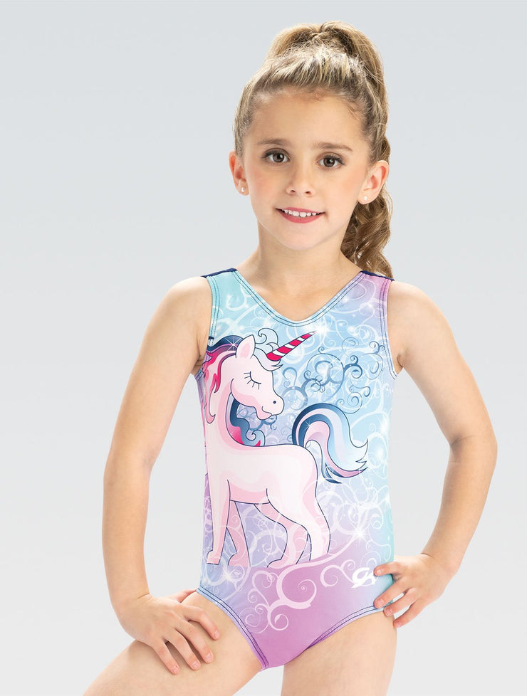 E4017 GKids Unicorn Wishes Leotard
