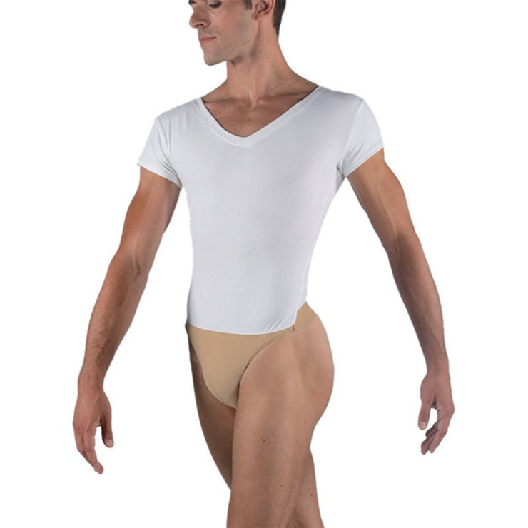 Ivan Cotton V-Neck Leotard
