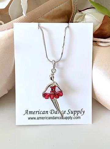 ADS507 Small Ballerina Necklace